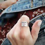 טבעת חריטת שמות
