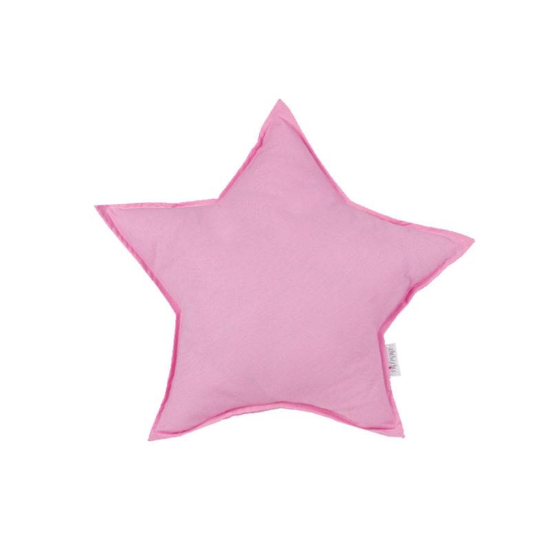 כרית נוי בצורת כוכב ורוד