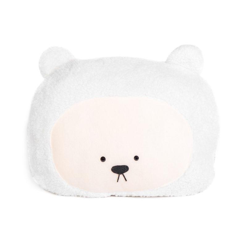 כרית בצורת דובי לבן