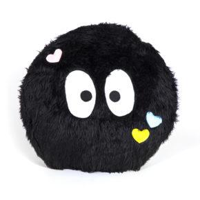 כרית בצורת מפלצת שחורה