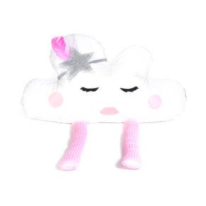 כרית ענן צ'רלסטון ורודה