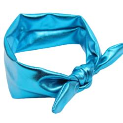 סרט מטאלי לשיער – כחול