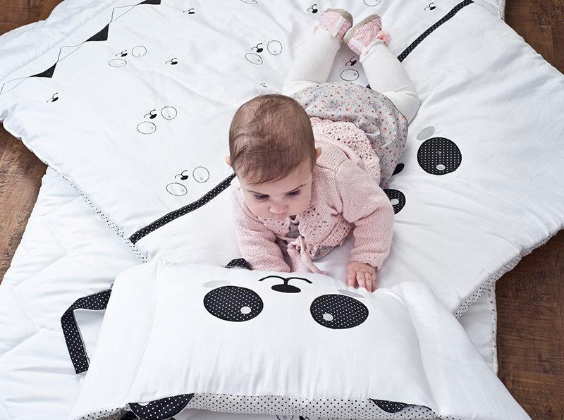 סט מצעים לתינוקות פנדה בייביזמול