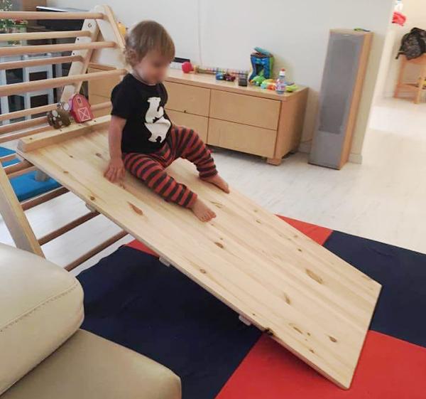 משולש פיקלר מתקפל לילדים - מתקן טיפוס
