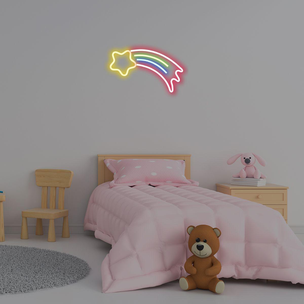 טרנד הניאון כאן כדי להישאר – והוא מגיע לחדר התינוקות!