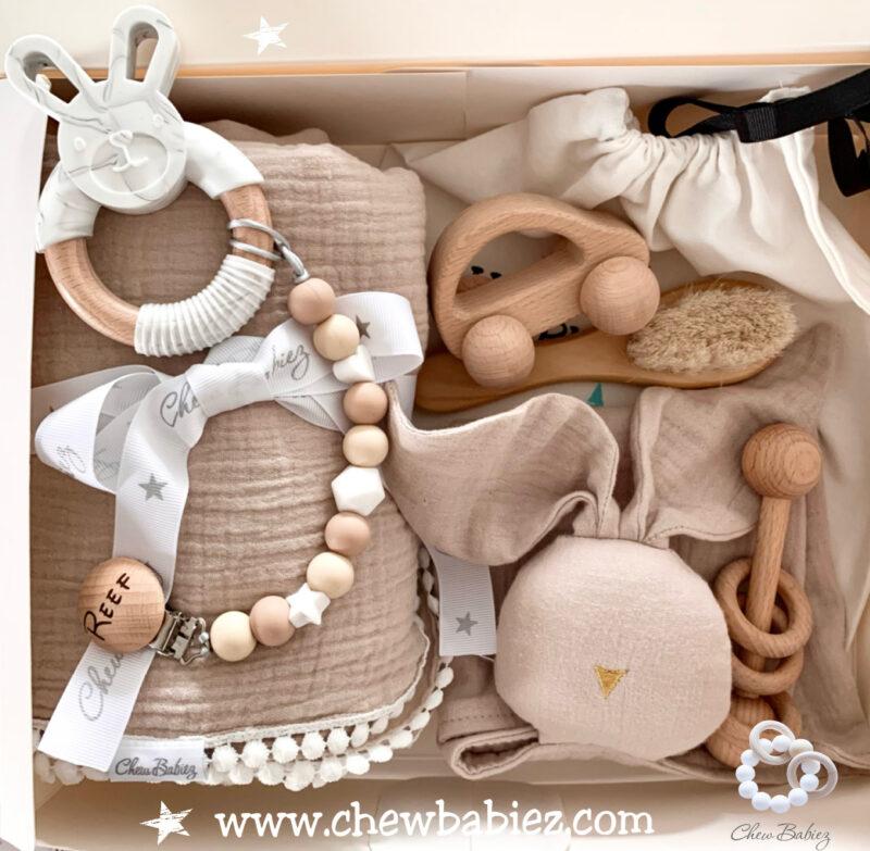 מתנת לידה   מארז לידה   מארז ליולדת   Chew Babiez gift box