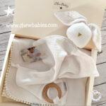 מתנת לידה | מארז לידה | מארז ליולדת | Pure White Gift Box
