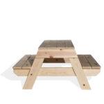 """שולחן עץ לילדים דגם קק""""ל"""