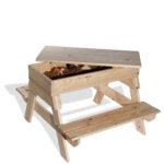 """שולחן יצירה וחוויה (דגם קק""""ל חול)"""