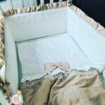 סט למיטת תינוק , סט מצעים...