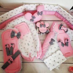 """חבילת לידה לתינוקת דגם """"פינק מיני"""""""