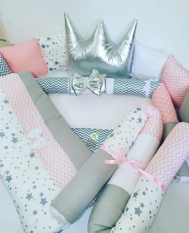 """חבילת לידה מושלמת לתינוקת דגם """"פינק"""""""