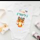 בגד גוף מעוצב לתינוק דגם ליאור