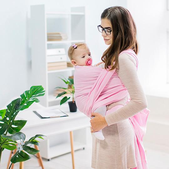 מנשא לתינוק מבד נושם