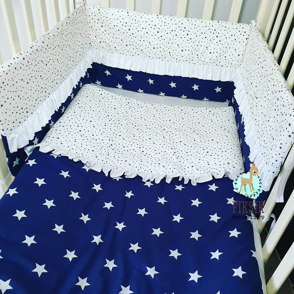 סט מצעים למיטת תינוק - מתנה ליולדת