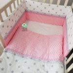 סט מצעים למיטת תינוק Fiksik 2