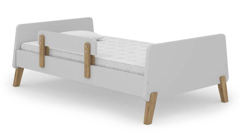 מיטת מעבר דגם MUZE עם מעקה סוגר שליף
