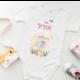 בגד גוף מעוצב לתינוקת דגם אודל