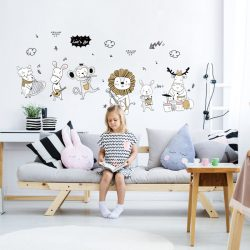 אביזרים לחדרי ילדים ותינוקות - מדבקות קיר