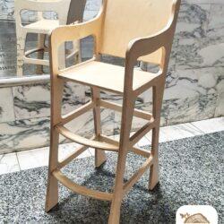 """כסא אוכל דגם """"דנה"""""""