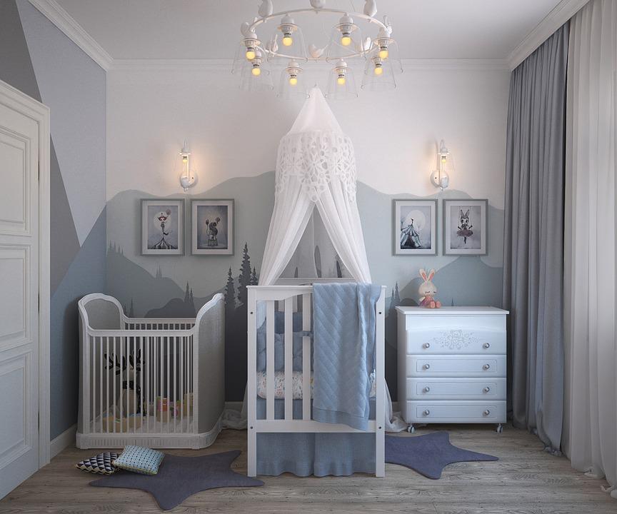 חנות בוטיק לתינוקות - חדר תינוקות מעוצב