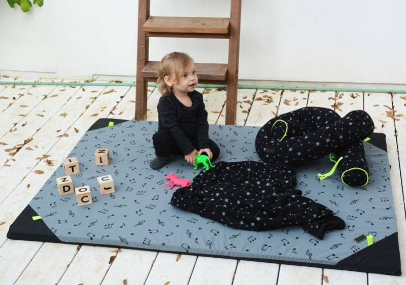 משטח פעילות דו צדדי לתינוק Mit Mit