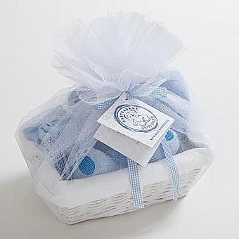 """מתנה ליולדת דגם """"בייסיק לתינוק"""" תכלת"""