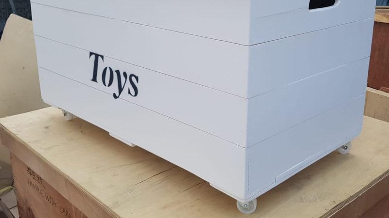 ארגז אחסון מעץ לחדר דגם Mottik