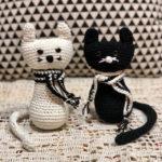 בובת חתול לבן, חתול שחור