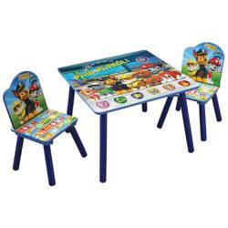 שולחן וכיסאות לילדים מעץ מפרץ ההרפתקאות