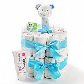מתנה ליולדת - עוגת חיתולים