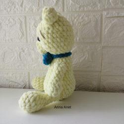 דובי חמוד מחוטי קטיפה