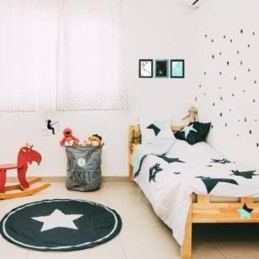 "סט עיצוב חדר דגם ""כוכבי הפנטזיה"""