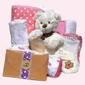מתנה ליולדת ולתינוקת - חיוך שובב