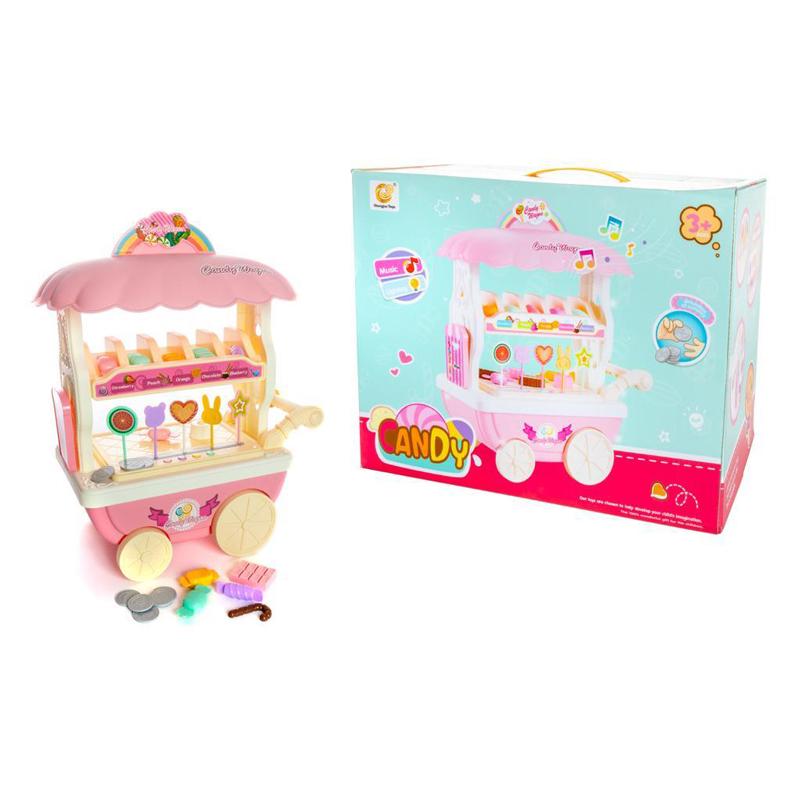 עגלת ממתקים מנגנת לילדים