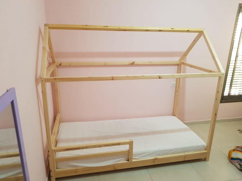 מיטת מעבר עם מעקה קדמי (דגם 2)