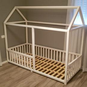 מיטת מעבר לתינוק בצורת בית (דגם 3)
