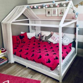 מיטת מעבר לתינוק ללא מעקה