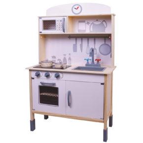 """מטבח עץ לילדים דגם """"המטבח שלי"""""""