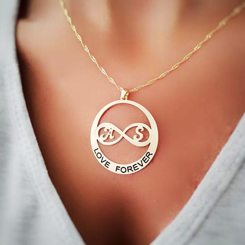 שרשרת זהב לאמר Love Forever