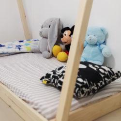 """מיטת מעבר לילדים דגם """"טיפי"""""""