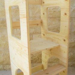 """מגדל למידה לילדים מעץ מבית """" CB Woodart"""""""
