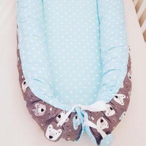 בייבי נסט קן שינה לתינוק כחול