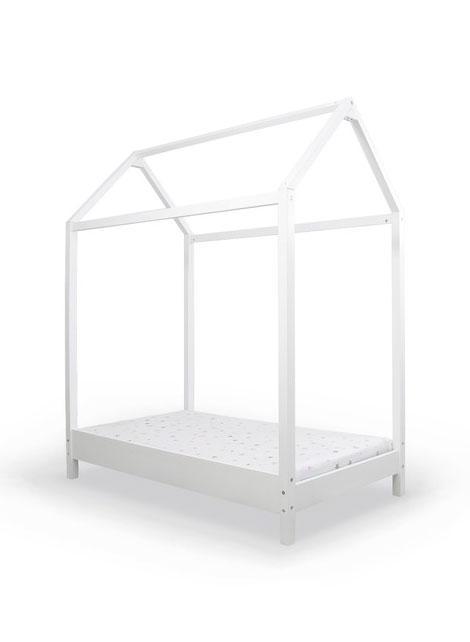 מיטת מעבר דגם הבית עם מעקה - נינו