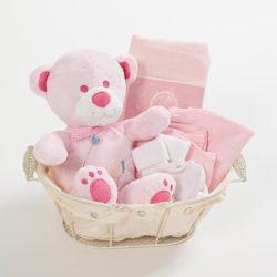 מתנה ליולדת - פטיט בייבי בסקט לתינוקת