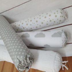כרית סוכריה למיטת תינוק