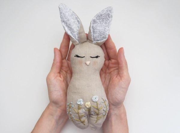 רעשן לתינוק דגם Bunny