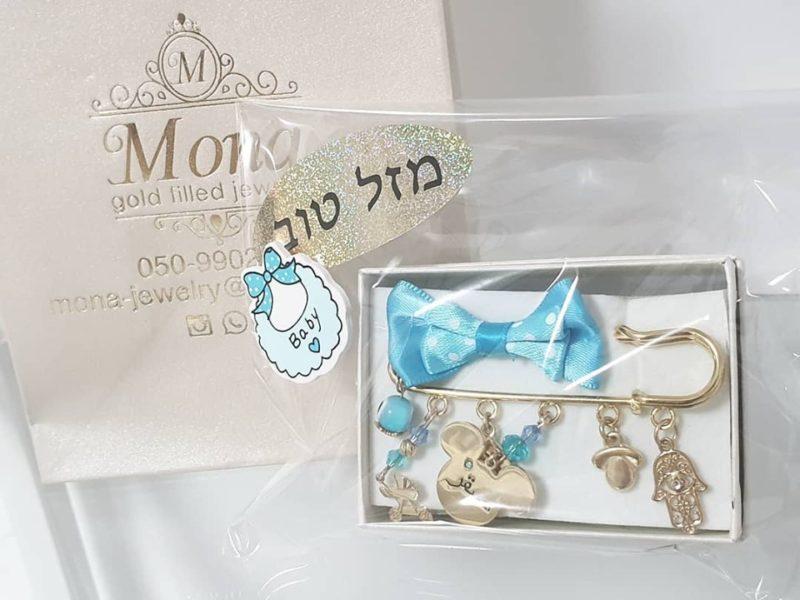 סיכה לעגלת תינוק דגם מיקי מאוס