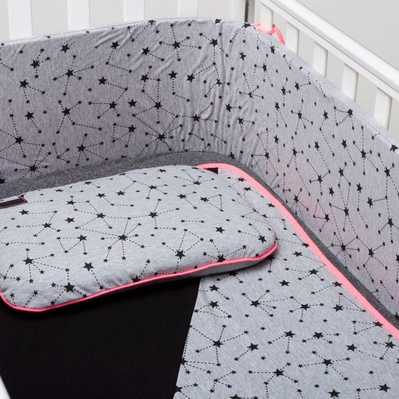 סט קייצי לעריסה או למיטת תינוק MitMit אפור
