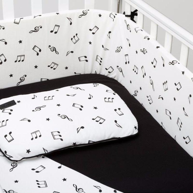סט קייצי לעריסה או למיטת תינוק MitMit לבן